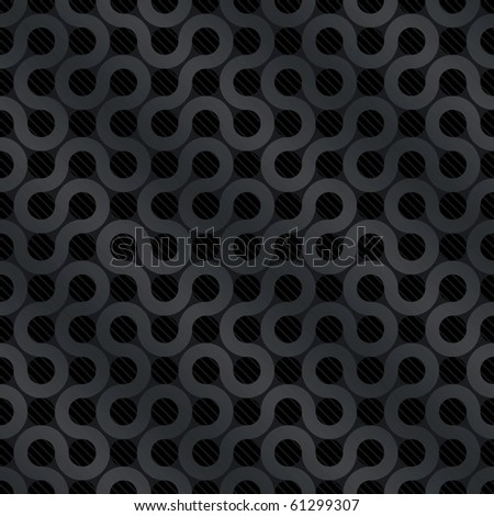Carbon flow background (editable seamless pattern)