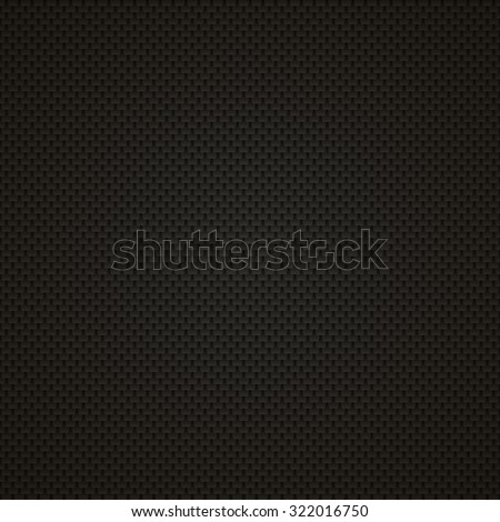 Carbon Vector Texture. Pattern Illustration. - stock vector
