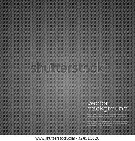 Carbon Vector Texture. Pattern Illustration. - stock vector