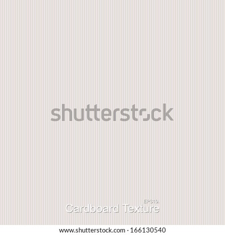 Cardboard texture, seamless. - stock vector