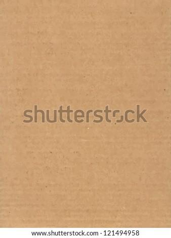 Cardboard Texture. Vector illustration. - stock vector