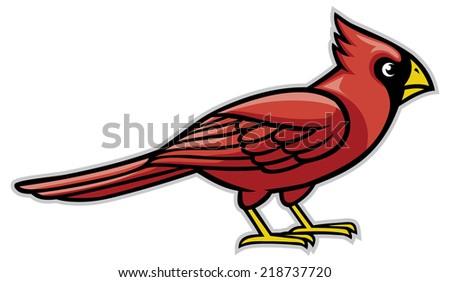 Cardinal Mascot Stock Images, Royalty-Free Images & Vectors ...