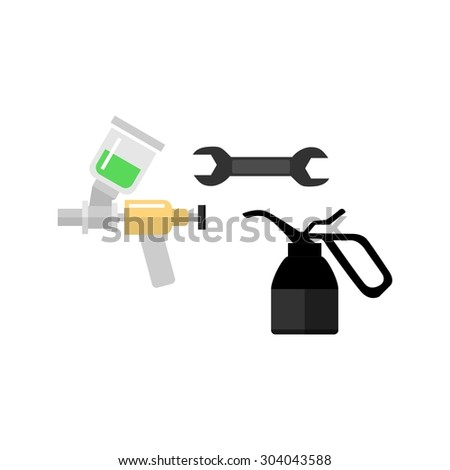 Carmaintenance Logo - stock vector