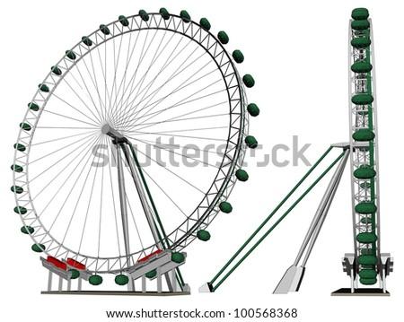 Carousel Vector 22 - stock vector