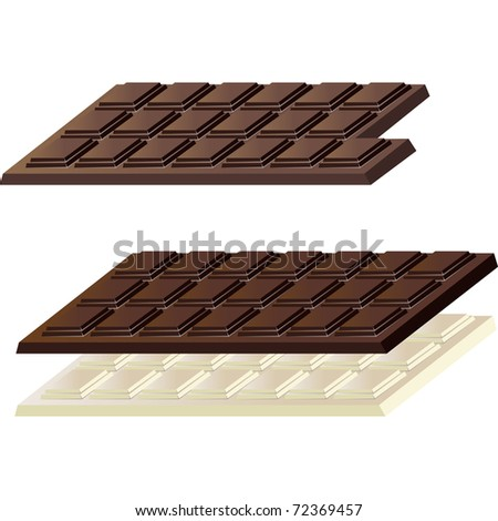 carton of milk chocolate or dark chocolate