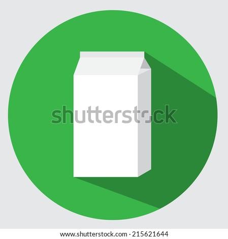Carton pack icon - stock vector