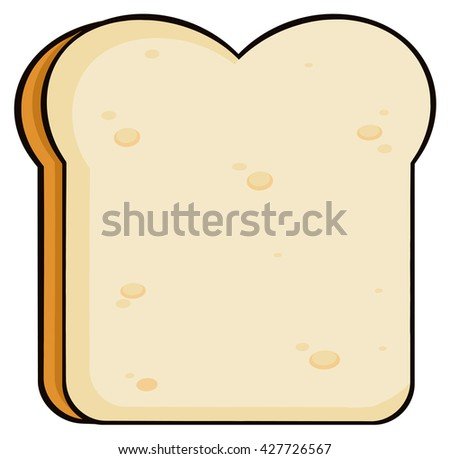 how to draw a cartoon loaf of bread