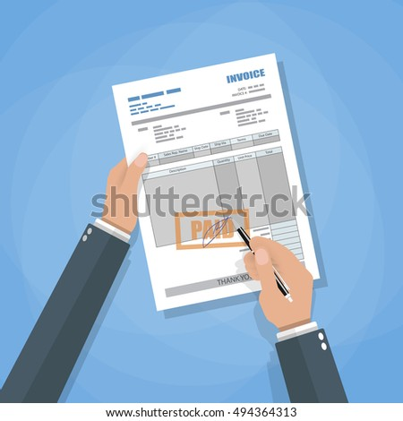 Vehicle Sale Receipt Form Excel Invoice Bill Stock Images Royaltyfree Images  Vectors  Meat Loaf Receipts Pdf with Sunglass Hut Receipt Excel Cartoon Businessman Hands With Sign Payment Invoice Receipt Vector  Illustration In Flat Style Return To Invoice Excel