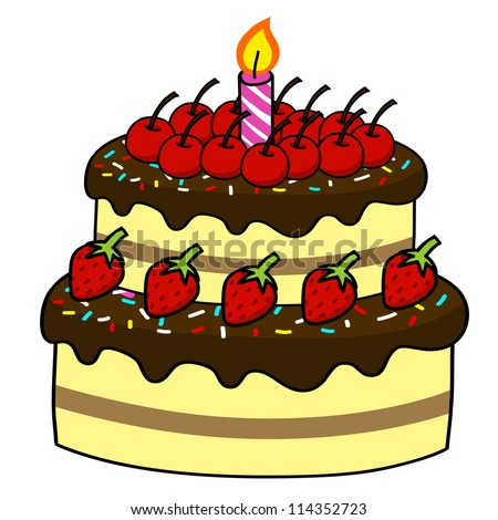 Cake Images Cartoon : Cake Cartoon Stock Images, Royalty-Free Images & Vectors ...
