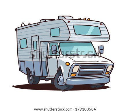 Luxury Cartoon Camper Related Keywords Amp Suggestions  Cartoon Camper Long