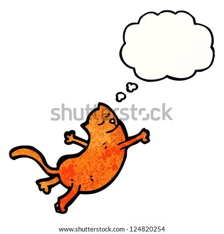 cartoon cat - stock vector