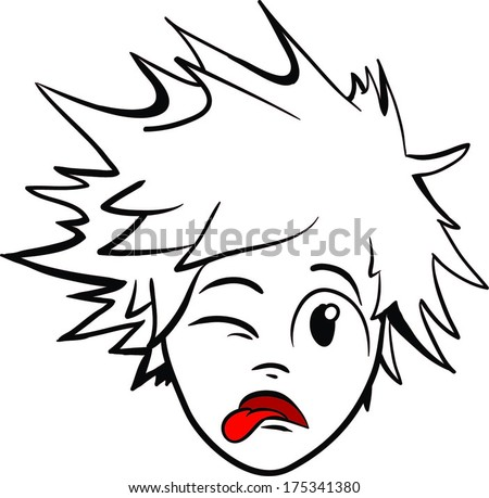 Crazy Hair Stock Images, Royalty-Free Images & Vectors ...  Crazy Hair Stoc...
