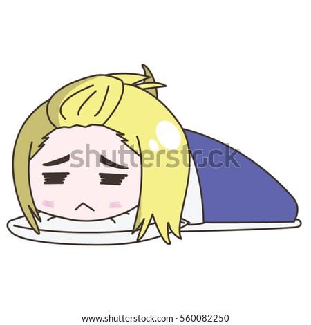 Lazy cartoon characters