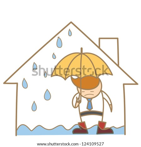 Leaky Roof Stock Images Royalty Free Images Amp Vectors