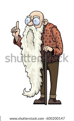 Wise Old Man Stock Images, Royalty-Free Images & Vectors ...