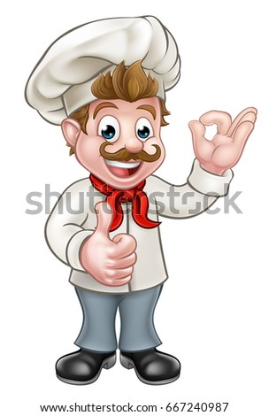 Cartoon Baker Stock Images, Royalty-Free Images & Vectors ...