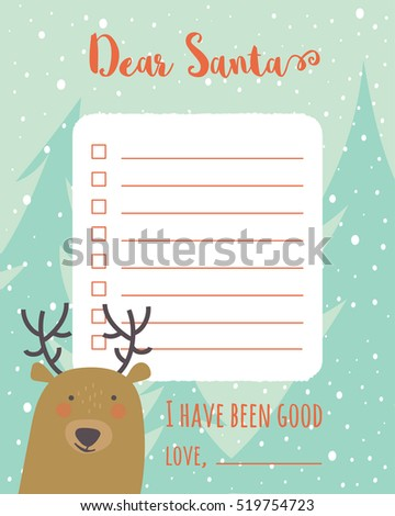 Santa List Stock Images RoyaltyFree Images Vectors Shutterstock
