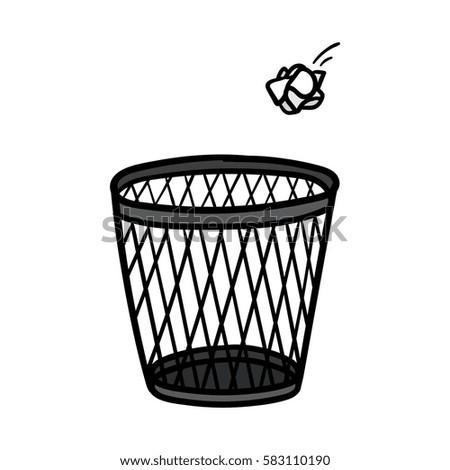 Basket Trash Can Stunning Sedona Honey Rattan Waste Basket