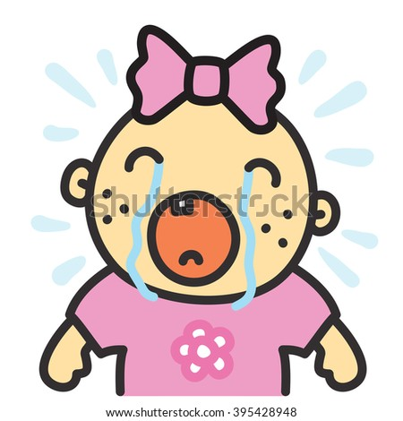 Crying Baby Girl Animation Baby Girl Crying Animation