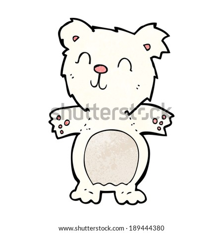 Cute cartoon polar bear cubs - photo#20