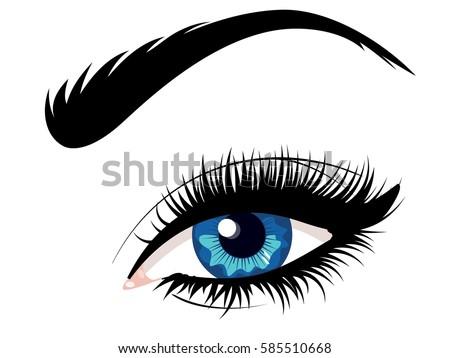 Blue Eye Female Cat