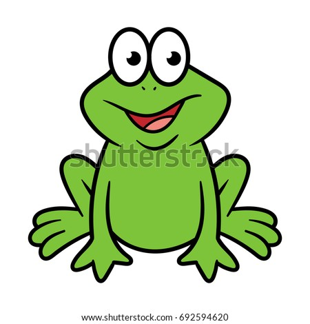 Cartoon frog - photo#35