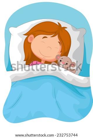 Funny Baby White Crib Canopy Nursery Stock Photo 387023494