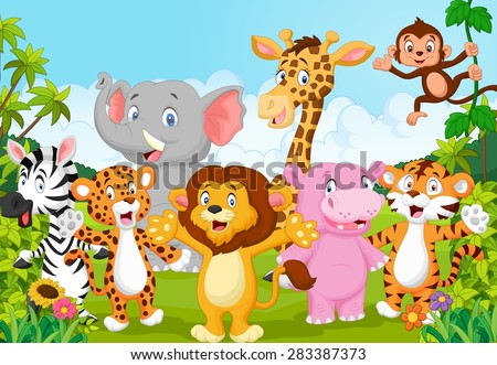 Cartoon Animals Stock Images, Royalty-Free Images & Vectors ...