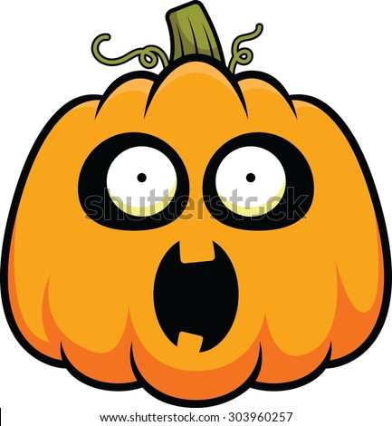 Stock images royalty free images vectors shutterstock for Surprised pumpkin face