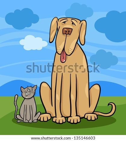 Big Dog Small Dog Stock Photos, Royalty-Free Images & Vectors ...