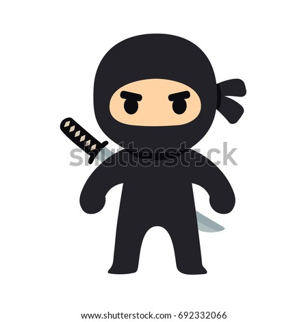 how to draw a ninja chibi