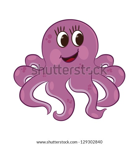 Go Back > Gallery For > Cartoon Octopus Images Octopus Cartoon Images