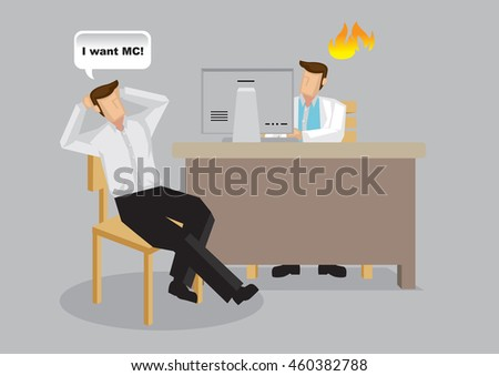 Sick Leave Doctor Stock Images RoyaltyFree Images  Vectors