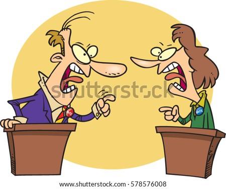 a debate