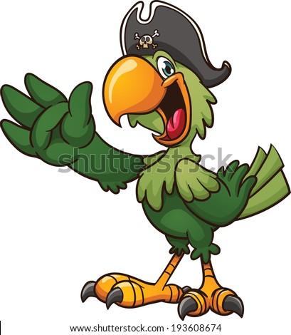 Parrot Cartoon Pictures Cartoon Pirate Parrot