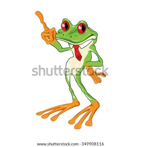 cartoon red eyed tree frog stock vector hd royalty free 349908116 rh shutterstock com Dancing Tree Frog cartoon red eyed tree frog