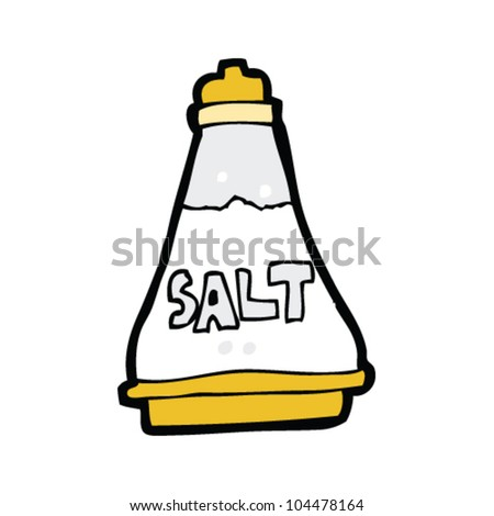 cartoon salt shaker