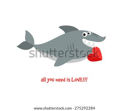Human Eat Big Fish Big Fish Stock Vector 256765624