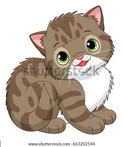 Kitten cartoon images