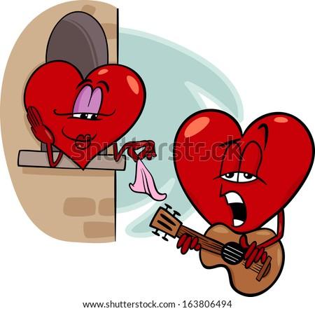 Cartoon Valentine Heart Images RoyaltyFree Images – Singing Valentine Cards