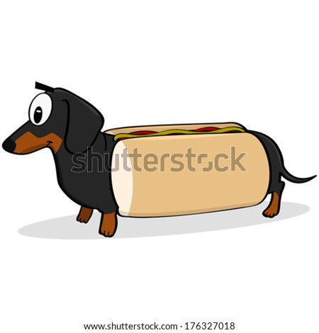 Dachshund Bun Bed Hot Dog Bun Shaped Dog Bed For Your Wiener Dog 49 ...
