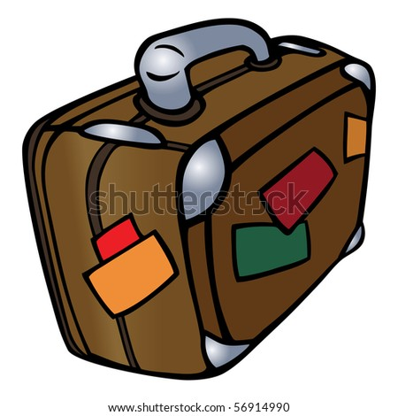 Cartoon Suitcase Stock Images, Royalty-Free Images ...