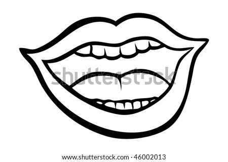 Mouth Illustration Drawing Illustration Human Mouth