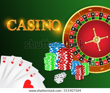 casino games coins dice cards