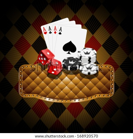 Casino banners  - stock vector