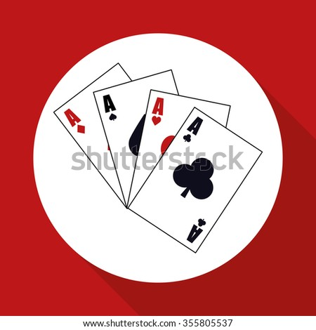 Casino concept with las vegas icons design, vector illustration 10 eps graphic.