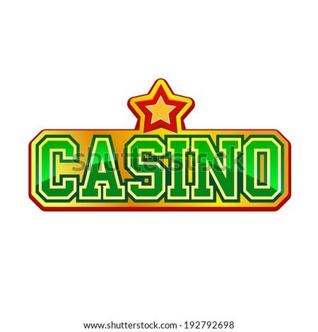 Casino signs vector
