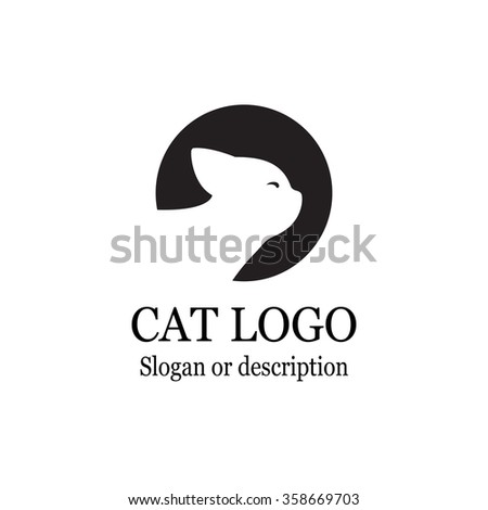 Cat Logo Stock Images, Royalty-Free Images & Vectors   Shutterstock
