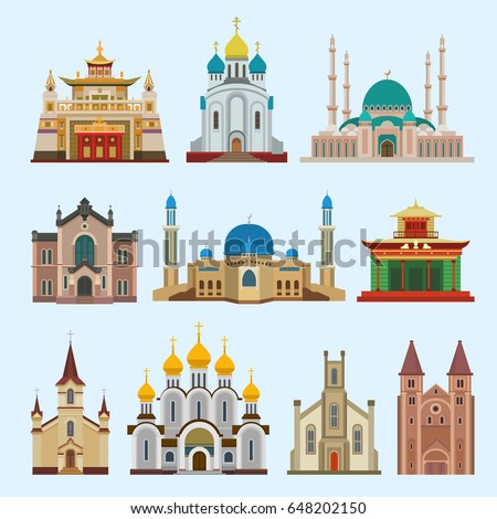 Place of worship stock images royalty free images for Religious buildings in india