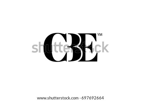 Vector graphics template logo company name stock vector 336788150 cbe logo branding letter vector graphic design useful as app icon alphabet combination thecheapjerseys